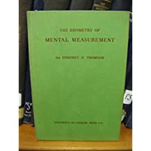 The Geometry of Mental Measurement