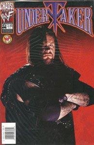 Undertaker Comic #6 Photo Cover - Chaos! Comics (Sept. 1999)