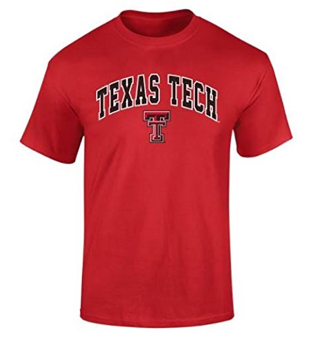 - Texas Tech Red Raiders Tshirt Arch Scarlet - XL