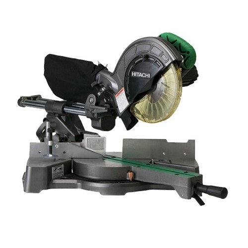 Saw Chop Hitachi - Hitachi C8FSE 9.2-Amp 8-1/2-Inch Sliding Compound Miter Saw