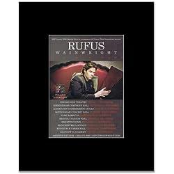 RUFUS WAINWRIGHT - UK Tour 2012 Mini Poster - 13.5x10cm