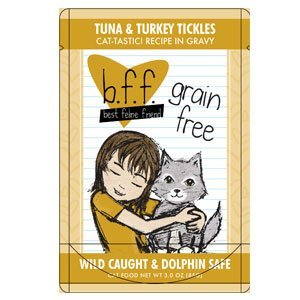 B.F.F. - Best Feline Friend, Tuna & Turkey Tickles with Tuna