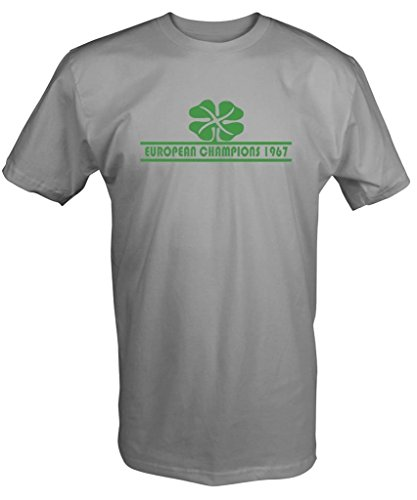 1967 Camiseta Camiseta Celta Retro F?tbol Leones Lisboa Europeo Copa