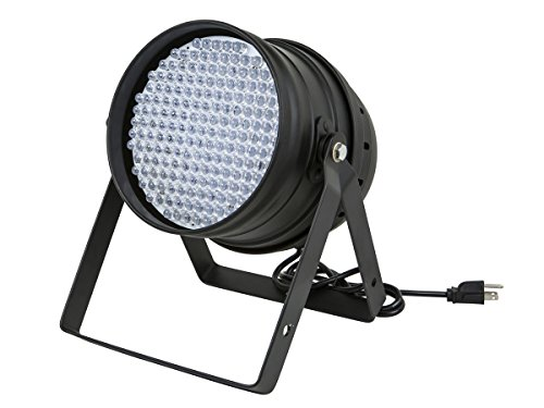 Monoprice Par-64 Stage Light | with 177 LEDs (RGB), Supports Master/Slave Mode, Aluminum Shell - Stage Right Series ()