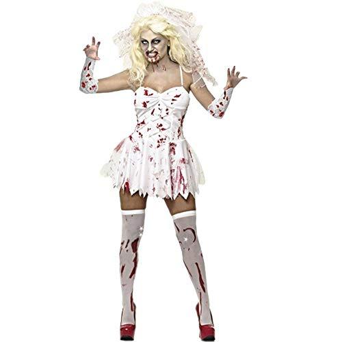 Ambiguity Halloween Costumes Women Halloween Costumes Women Halloween Costume Ghost Bride Zombie Costume Nurse Vampire Cosplay Dress Party Costume