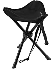 Tripod Stool, OUTAD Lightweight Folding Tripod Camp Stool for Outdoor Camping, Fishing, Picnic, Hiking, Soccer, Games, Photography, Gardening, Sporting Events, Chair With 3 Legs Stool (Blue)