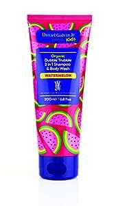 Organic Dubble Trubble 2 in 1 Shampoo & Body Wash Watermelon 6.8 Fl Oz