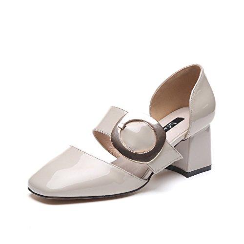 Carre Peinture Boucle Chaussures 1color Wild Raw Des Femme Tte Sandals Avec 8qtnUBxwz