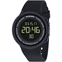 Pasnew-446 Sports Digital Watches Womens Kids Boys or Girls Watches Students Watch with Alarm Stopwatch Multi-Functional Wrist Watches