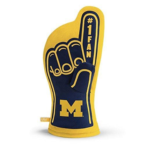 YouTheFan NCAA Michigan Wolverines #1 Oven Mitt ()