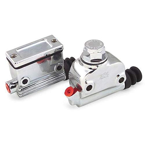 (Bikers Choice Wagner Type Rear Master Cylinder for Harley Davidson 1958-72 Big - One Size)