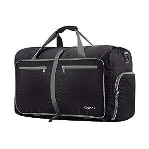 Amazon.com  Gonex 40L Packable Travel Duffle Bag for Boarding ... 0db9925933ebf