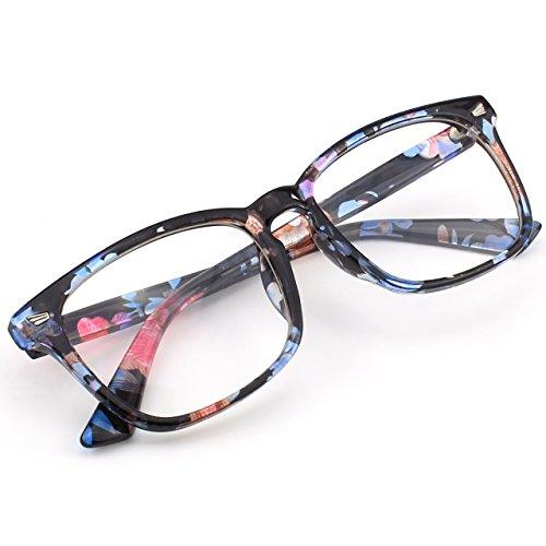 grosses d'écailles et monture Multicolore monture CGID CN82 verres transparents à audacieuse UV400 Lunettes oversized wRCxTx7Iq