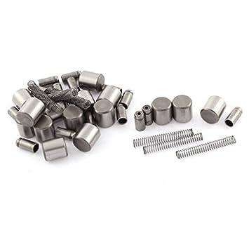 5 piezas de motor de arranque del embrague de rodillos Pin Conjunto Primavera: Amazon.es: Coche y moto