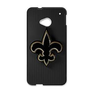 KKDTT new orleans saints Hot sale Phone Case for HTC ONE M7 Black