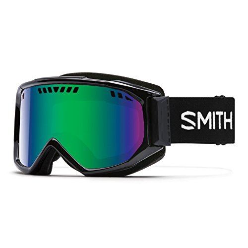 Smith Scope Goggles Black/Green Sol X Mirror, One Size by Smith Optics