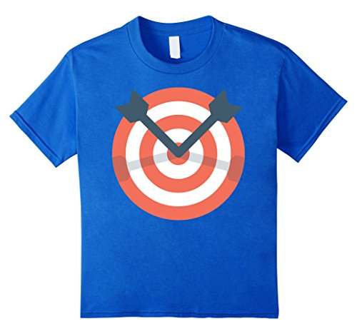 Girl Costumes At Target (Kids Archer Bow Shooting Tshirt - Funny Archery Target Gift Idea 4 Royal Blue)