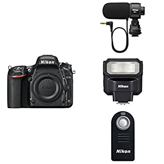 Nikon D750 FX-format Digital SLR Camera Body with Wireless Remote Control, Speedlight Flash and Microphone (B07F4FWRM6) | Amazon price tracker / tracking, Amazon price history charts, Amazon price watches, Amazon price drop alerts