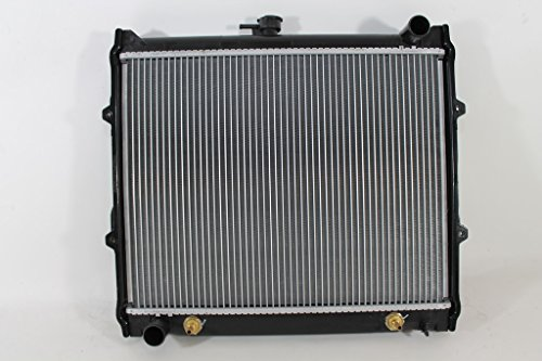 Radiator - Pacific Best Inc For/Fit 945 Toyota Pickup 2 Wheel Drive (Automatic/Manual) 4 Wheel Drive Manual 4 Cylinder 2.4 Liter PT/AC 1 Row (Drive Automatic Wheel Four)