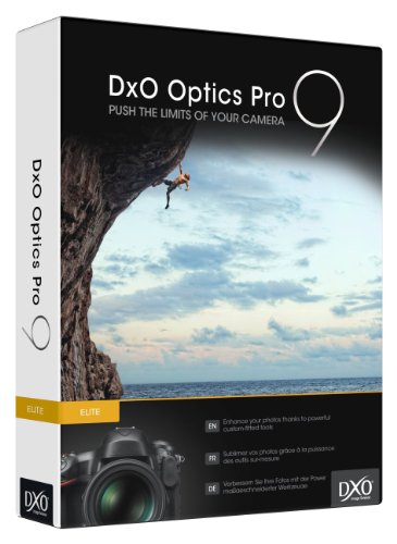 DXO Optics Pro 9 Elite for PC/Mac - Digital (download link and license key will be sent by Amazon message)
