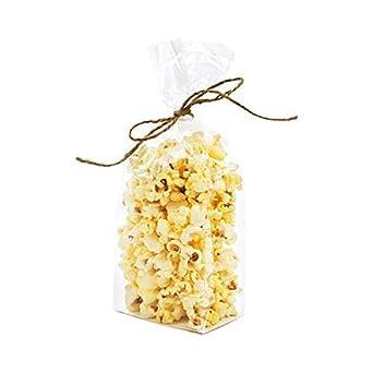 Amazon.com: Bolsas para dulces con fondo plano transparente ...