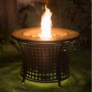 Amazon Com Fire Pot With Led Light Garden Amp Outdoor