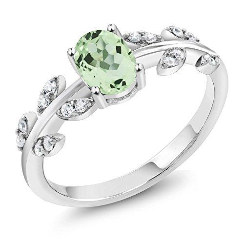 green amethyst gem - 3