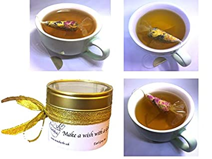 Amazon.com: Small gift, 3 Tea Samples Tin Gift Box Goldfish tea bags ...