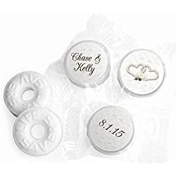 Personalized Mints Wedding Favors LifeSavers Mints (300 Count)