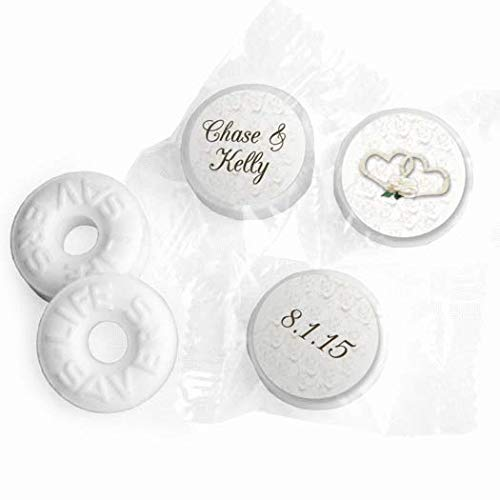 Personalized Mints Wedding Favors LifeSavers Mints (300 Count)