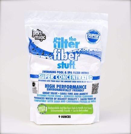 Jack's Magic The Filter Fiber Stuff 9oz Bag ()