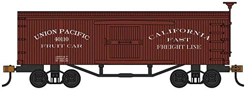 Old-Time Box Car - Union Pacific Fruit Car - HO Scale