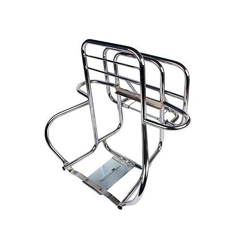 Vespa Seat Rear - Cuppini Rear Rack (3- Way, Chrome); P/PX, Stella 2T