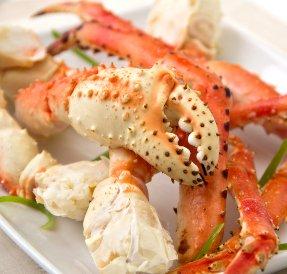 King Crab Legs, 1 - 2 Lb. Pack, By: Rastelli (2 Lb King Crab Legs)