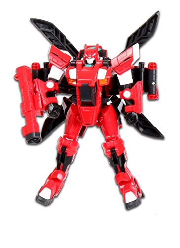 MiniForce X Pentathlon Sammy Penta X Bot Penta X Machine Robot Helicopter Airplane Plane Transforming Transformation Action Figure Figurine Toy Robot