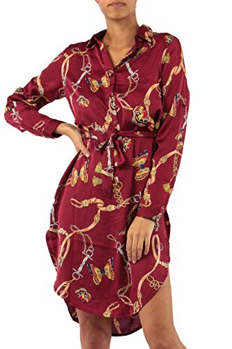 Chain Print Dress (red, Small) for sale  Delivered anywhere in USA
