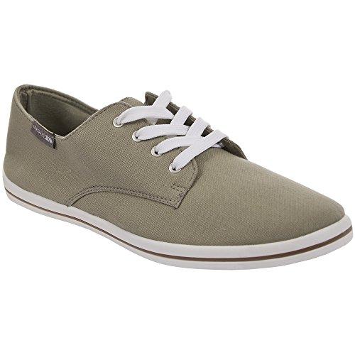 Trespass - Zapatillas de tela casuales con cordones hombre caballero - Vestir / Trabajo Blanco