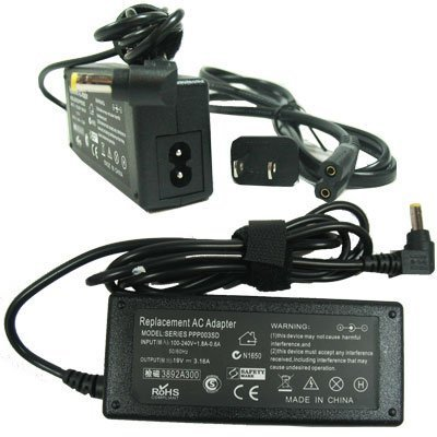 power supply+cord for Dell Inspiron 1000 B120 B130 2200 (Inspiron B120)