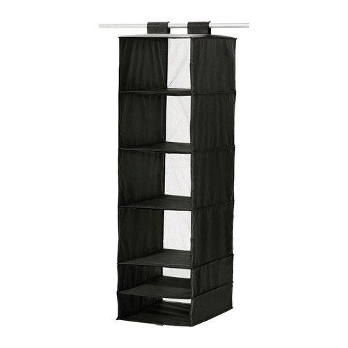 Ikea Skubb Hanging Clothes Closet Storage Organizer Rack Black. Ikea Closet Organizer  Amazon com