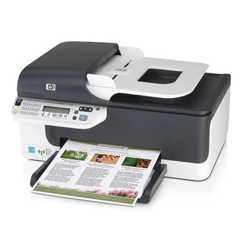 how to connect hp officejet j4680 wireless to computer