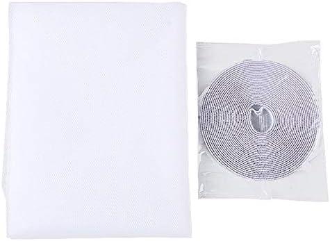 Ningbao /Écrans Anti-moustiques Noirs et Blancs Auto-adh/ésifs Gaze pour /écrans Anti-moustiques