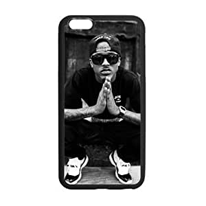 Custom August Alsina Phone Case Laser Technology for iPhone 6 Plus Designed by HnW Accessories