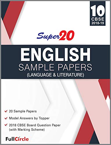 Amazon in: Full Circle Education Pvt Ltd: Super 20 Sample Papers