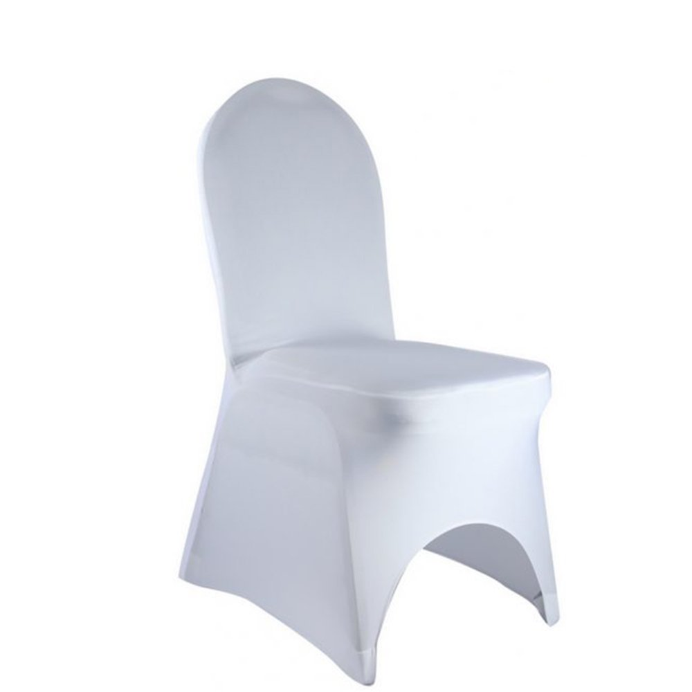 Phenomenal Best Sale Set Of 100Pc White Color Universal Size Spandex Banquet Wedding Party Stretch Dining Chair Covers Arch Bottom Us Stock Download Free Architecture Designs Barepgrimeyleaguecom