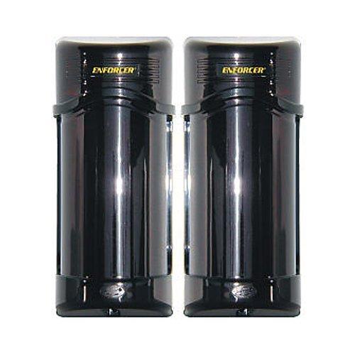 Seco-Larm Enforcer Twin Photobeam Detector, 190-390 Ft. Range (E-960-D190Q) (2 Pack)