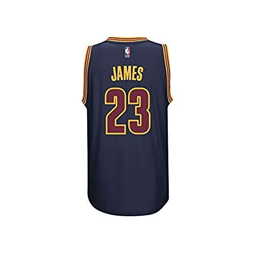 LeBron James Mens Navy Cleveland Cavaliers adidas Swingman Jersey Medium