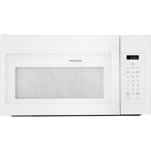 Frigidaire FFMV1645TW 30 Inch Over the Range Microwave Oven with 1.6 cu. ft. Capacity, 1000 Cooking Watts in White (30 Microwave Inch)