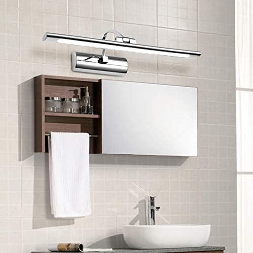 -badezimmerlampe Spiegel Frontleuchte Einfache Und Elegante Badezimmer WC geführte Spiegel-Kabinett-Licht-Lampe Kreative Verfassung Badleuchte (Color : White light)