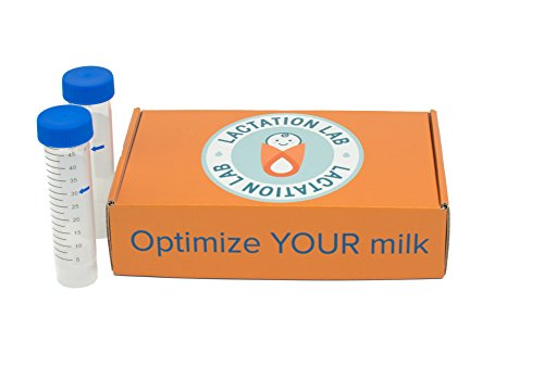 - Lactation Lab at-Home Breast Milk Test Kit - Standard - Nutrient Levels: Calories, Carbohydrates, Protein, Fat, Calcium, Iron, Vitamins A, C and B-12.