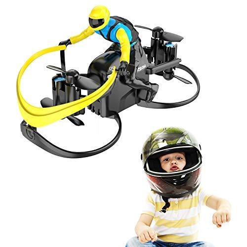 Mini Drone, Tomzon U48A RC Stunt Doll with Paraglider Flight, One Key Demo, Altitude Hold RC Quadcopter, Nano Drone for…
